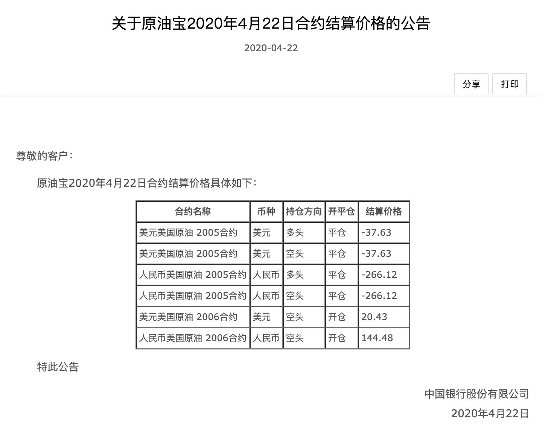 """中国银行""""纸原油""""产品曝出漏洞闷杀散户 有投资者需倒贴银行近千万"""